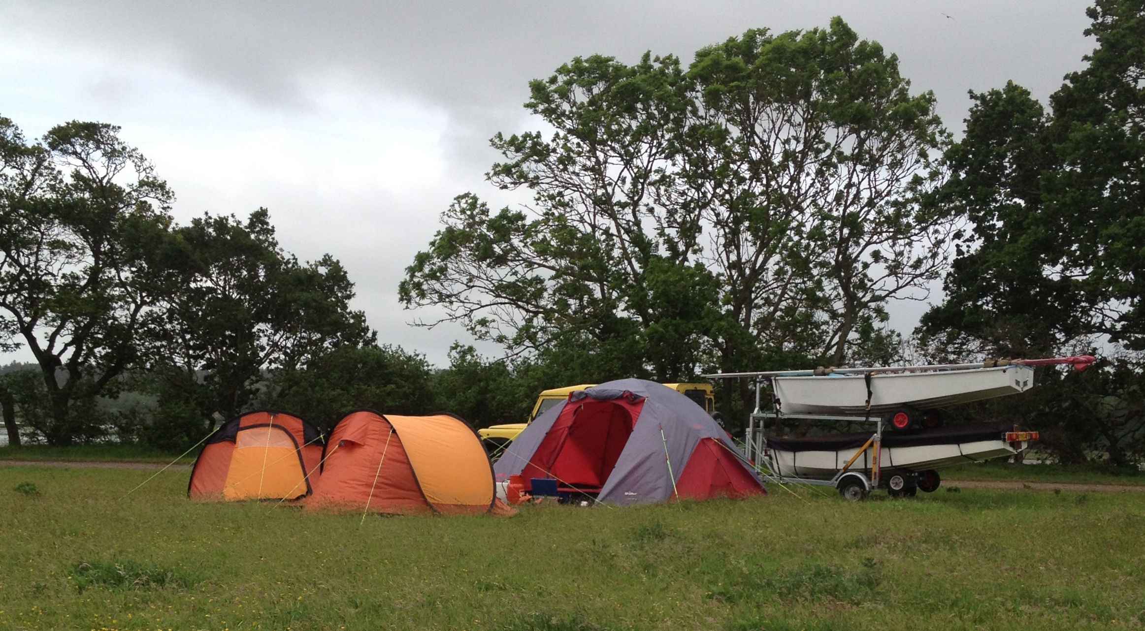 Camping at Poole